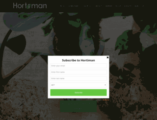 hortiman.com screenshot