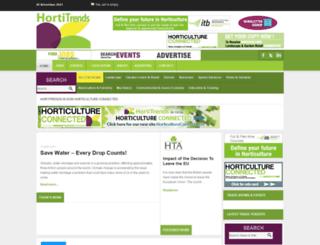 hortitrends.com screenshot