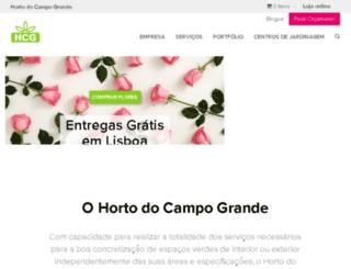 hortodocampogrande.com screenshot
