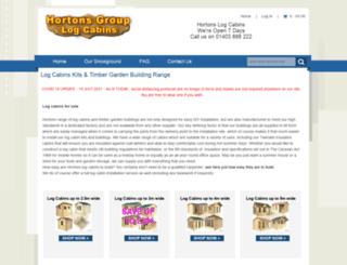 hortonsgroup.com screenshot