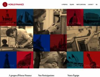 horus-finance.com screenshot