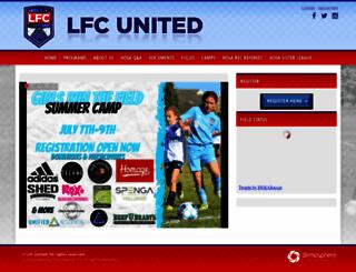 hosa-soccer.org screenshot