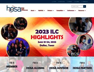hosa.org screenshot