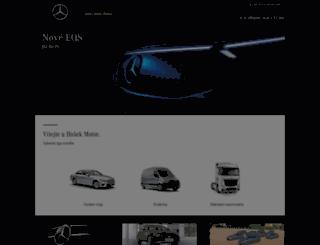 hosek-motor.cz screenshot