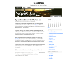 hosenindosen.wordpress.com screenshot