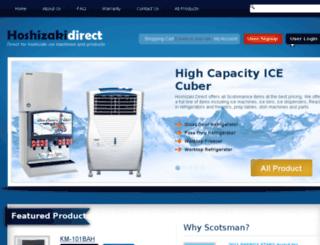 hoshizakidirect.com screenshot