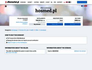 hosmed.pl screenshot
