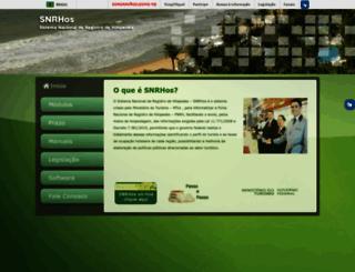 hospedagem.turismo.gov.br screenshot
