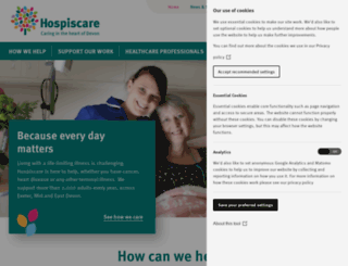 hospiscare.co.uk screenshot