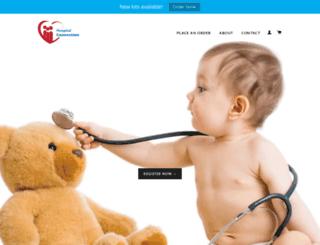 hospitalconnection.myshopify.com screenshot
