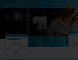 hospitaldaluz.pt screenshot