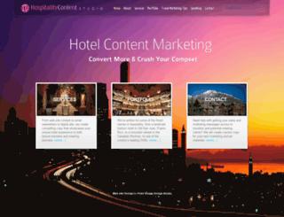 hospitalitycontentstudio.com screenshot