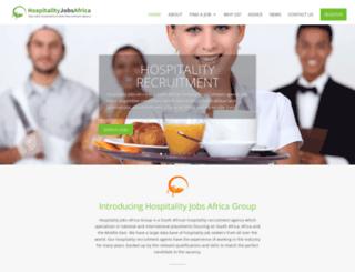 hospitalityjobsafrica.co.za screenshot