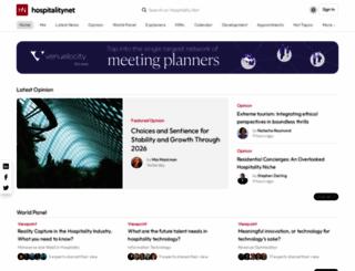 hospitalitynet.org screenshot