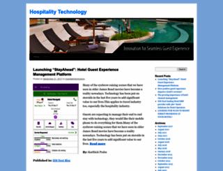 hospitalitytechnology.wordpress.com screenshot