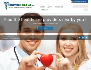 hospitalkerala.in screenshot