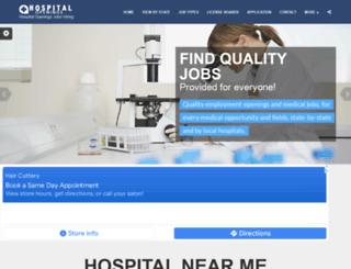 hospitalopenings.com screenshot