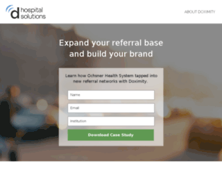hospitals.doximity.com screenshot