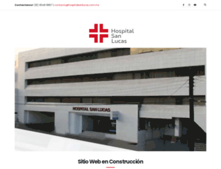 hospitalsanlucas.com.mx screenshot