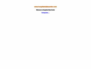 hospitalsdatacenter.com screenshot