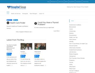hospitalsoup.com screenshot