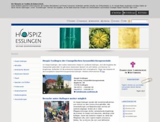 hospiz-esslingen.de screenshot