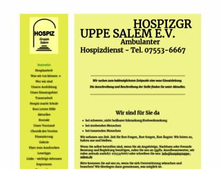 hospizgruppe-salem.de screenshot