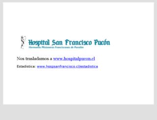 hospsanfrancisco.cl screenshot