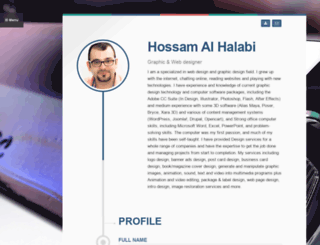 hossam.org screenshot