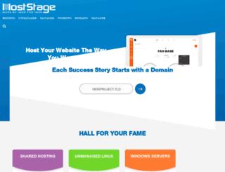 host-stage-dns.com screenshot