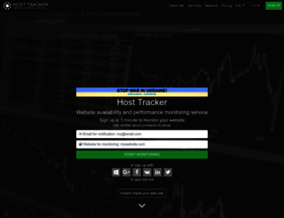 host-tracker.com screenshot