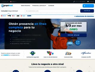 host.pe screenshot