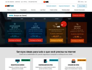 host.uol.com.br screenshot
