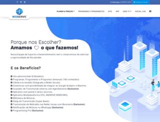 host.webservic.com.br screenshot