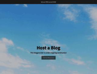 hostablog.de screenshot