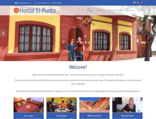 hostalelpunto.cl screenshot