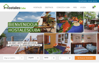 hostalescuba.com screenshot