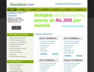hostbost.com screenshot