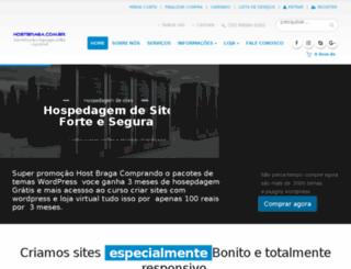 hostbraga.com.br screenshot