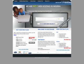 hostcruise.com screenshot