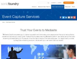 hosted.mediasite.com screenshot