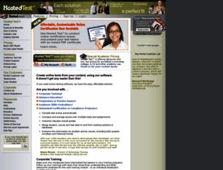 hostedtest.com screenshot