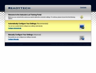 hostedtraining.com screenshot