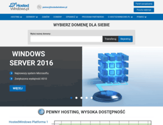 hostedwindows.pl screenshot