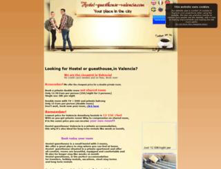 hostel-guesthouse-valencia.com screenshot