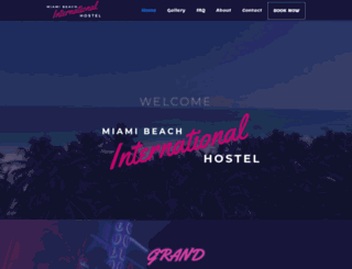 hostelmiamibeach.com screenshot