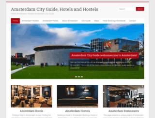 hostels-amsterdam.nl screenshot