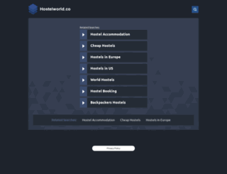 hostelworld.co screenshot