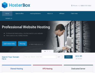 hosterbox.net screenshot