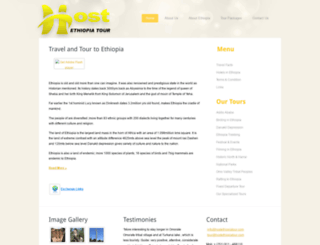 hostethiopiatour.com screenshot